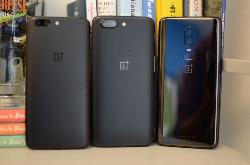 One plus 5/5T and 6/6T Comparisions