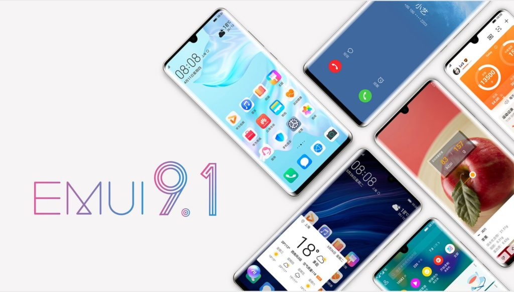 Huawei P30 Pro official image emui 9.1