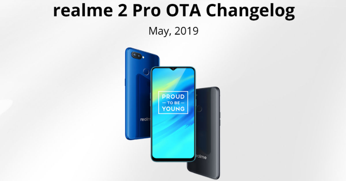 Realme 2 Pro Android Pie Update Adds Theme Store, Game