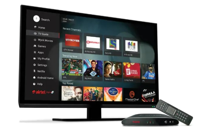 Airtel to offer free set-top box and HD LED TV