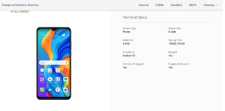 Honor 20S Google Play Console