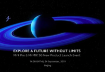 Mi MIX Alpha, Mi 9 Pro launch