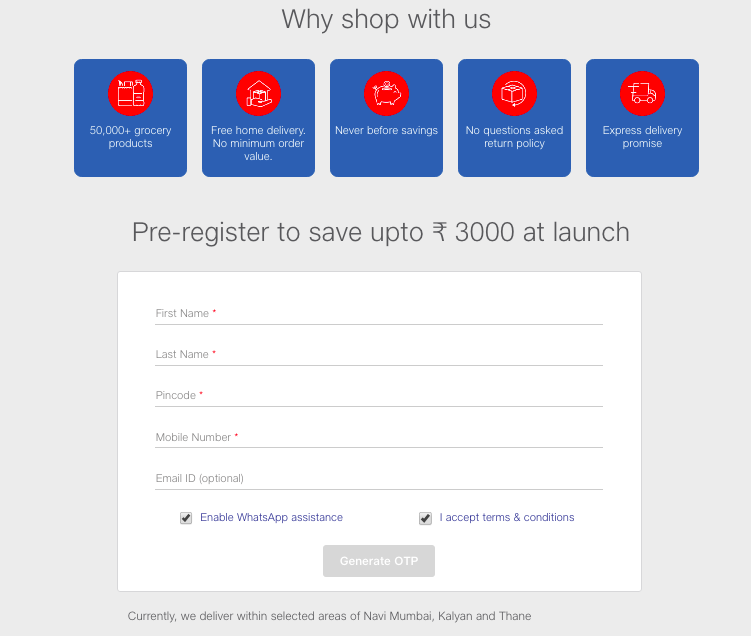 Jio Mart How to Register