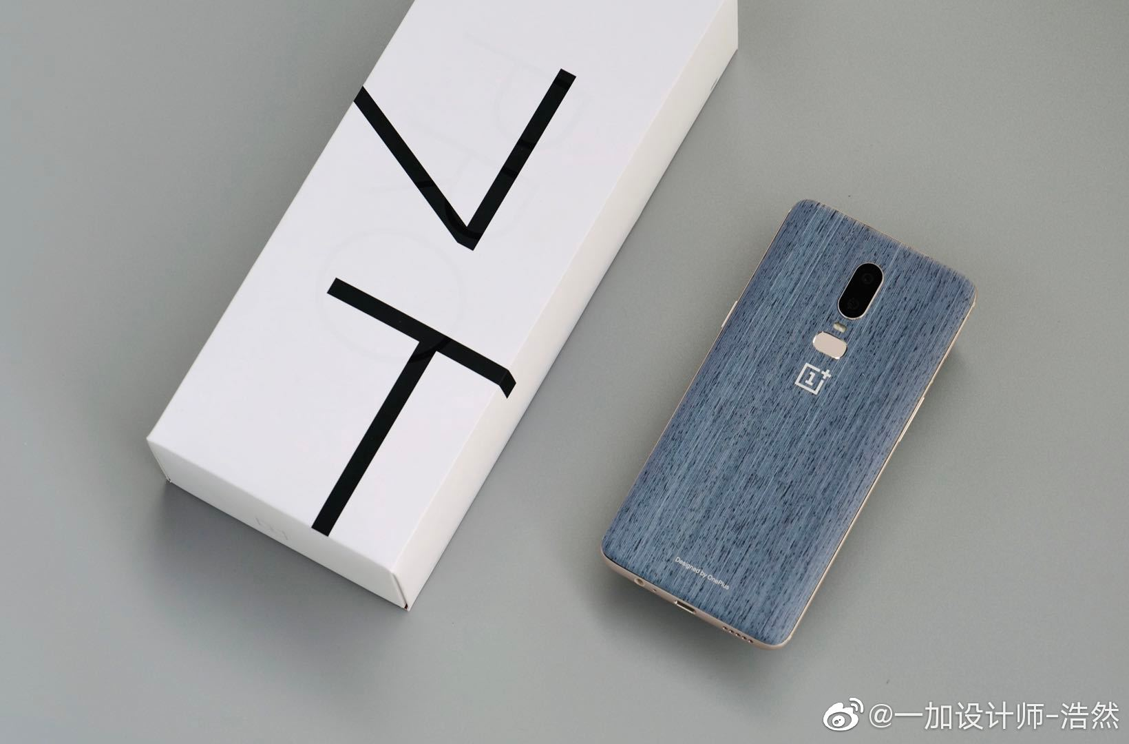 OnePlus 6 New Design