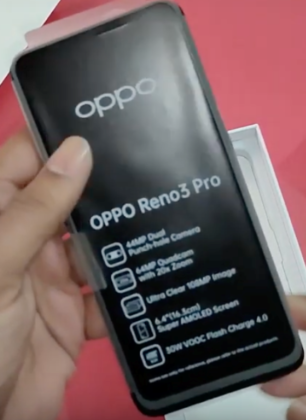OPPO Reno 3 Pro Real Images