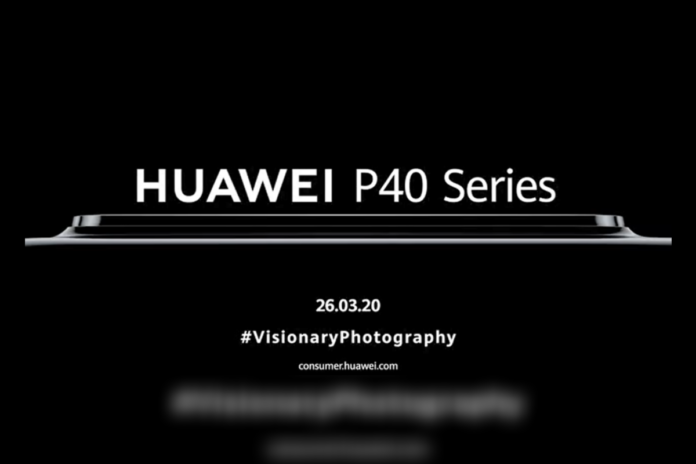Huawei P40 Series Launch