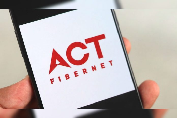 ACT Fibernet Rs 100 Off Promotional Offer