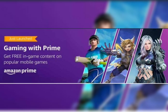 Amazon Gaming With Prime: Free in-game Content